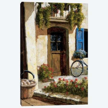 Back From The Market Canvas Print #GIA2} by Gilles Archambault Canvas Art
