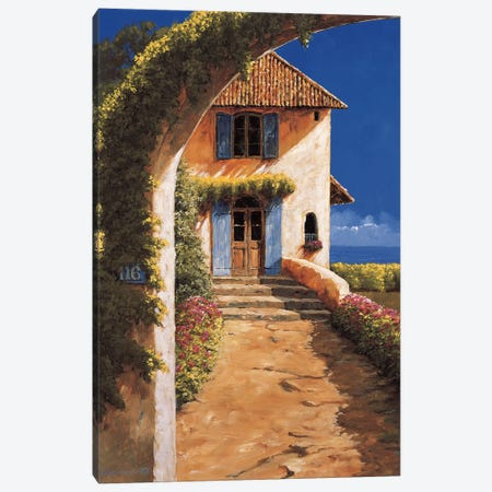 Welcoming Canvas Print #GIA30} by Gilles Archambault Art Print