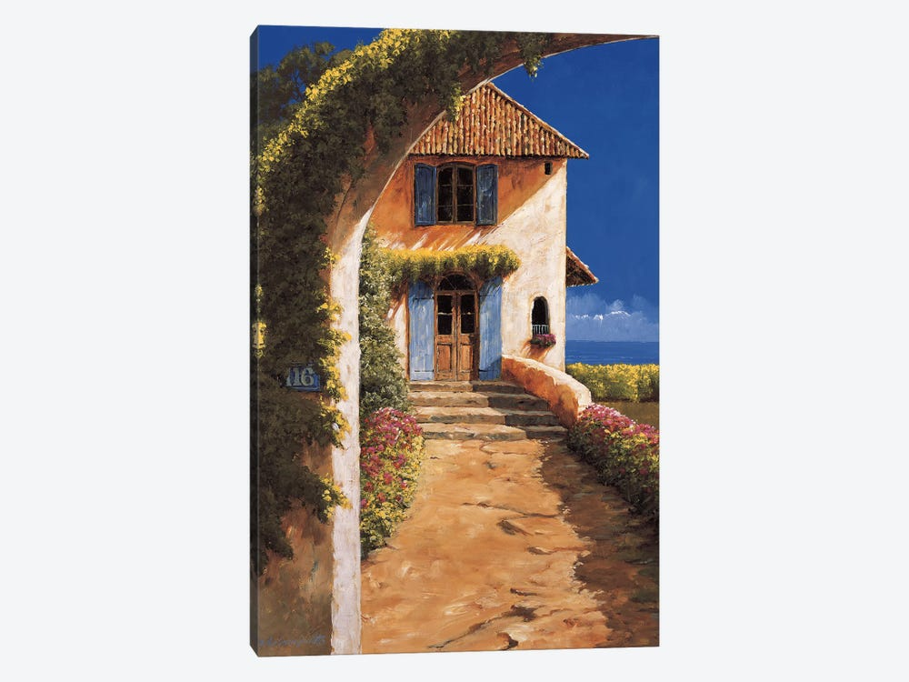 Welcoming by Gilles Archambault 1-piece Canvas Art