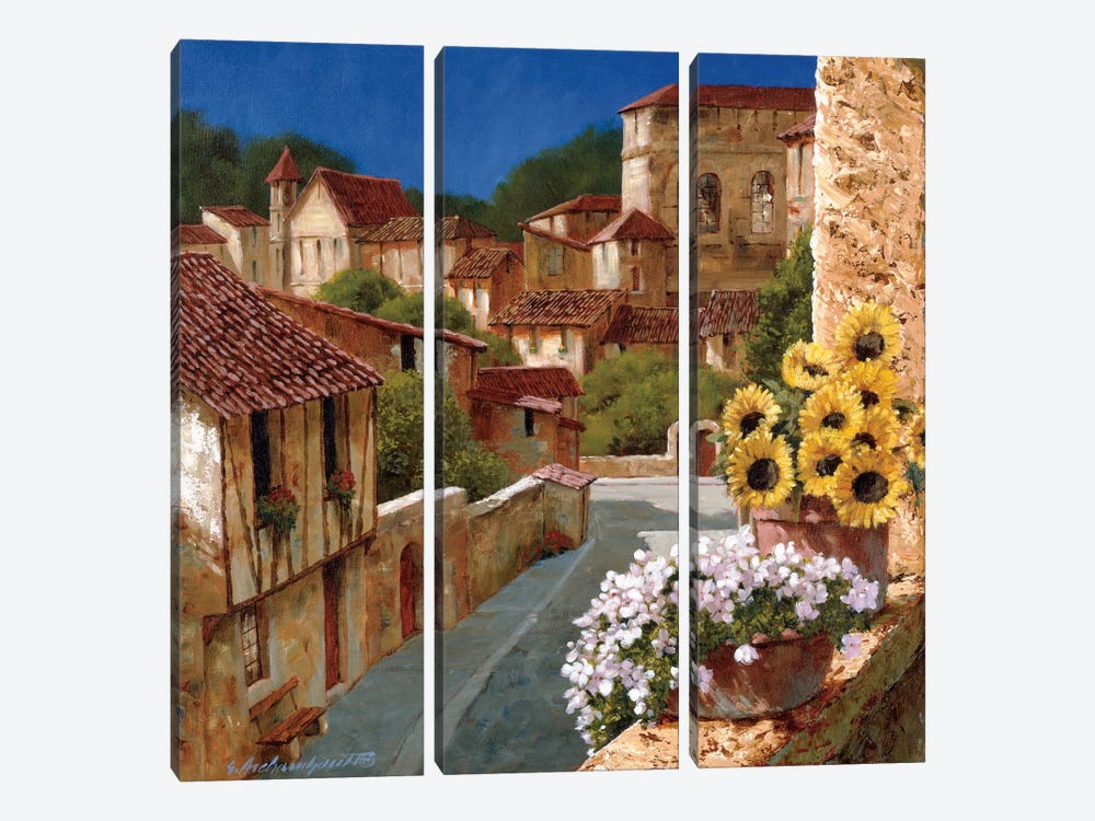 Spring Fever by Gilles Archambault 3-piece Canvas Artwork