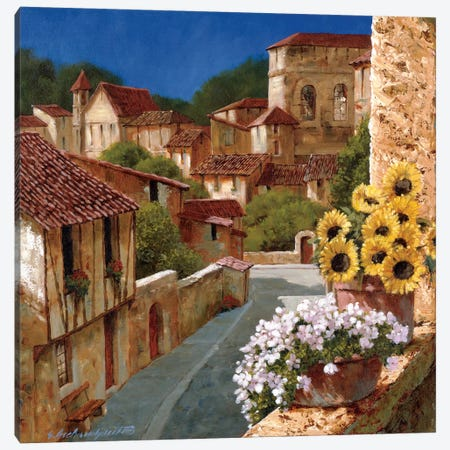 Spring Fever Canvas Print #GIA34} by Gilles Archambault Canvas Wall Art
