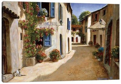 Boulangerie De Peypin Canvas Art Print