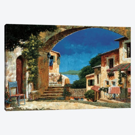 Come To My House Canvas Print #GIA5} by Gilles Archambault Canvas Print