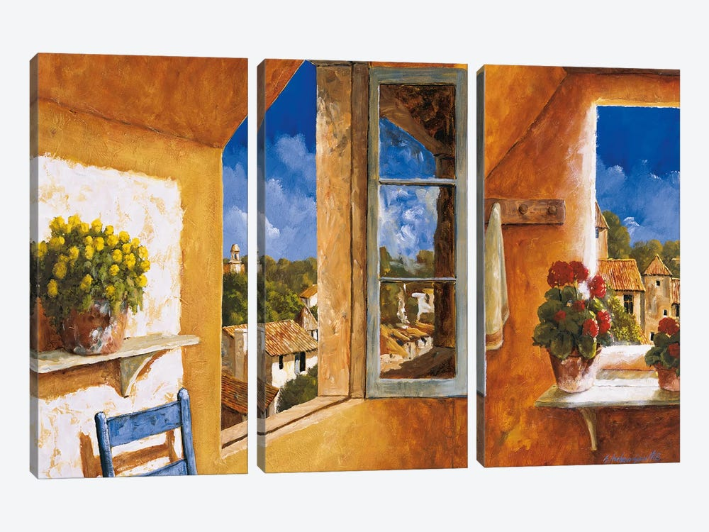 Good Morning Sunshine by Gilles Archambault 3-piece Canvas Art