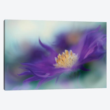 Gold & Purple in the Mist I Canvas Print #GIH10} by Gillian Hunt Canvas Wall Art