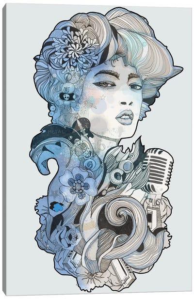 Blues I Canvas Art Print