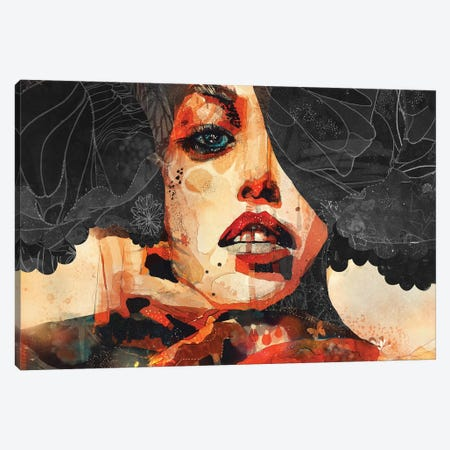 Carbon Canvas Print #GII15} by Giulio Iurissevich Canvas Wall Art