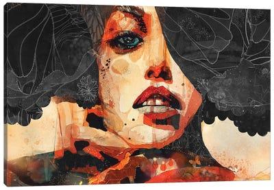 Carbon Canvas Art Print