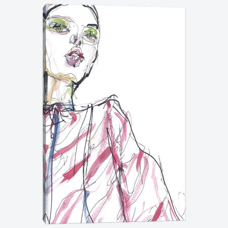 Celine Canvas Print #GII16} by Giulio Iurissevich Canvas Wall Art