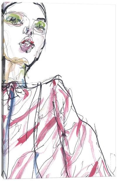 Celine Canvas Art Print