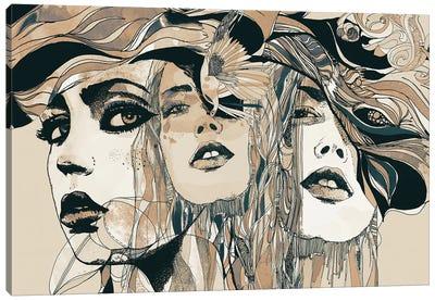 Danielle Canvas Art Print