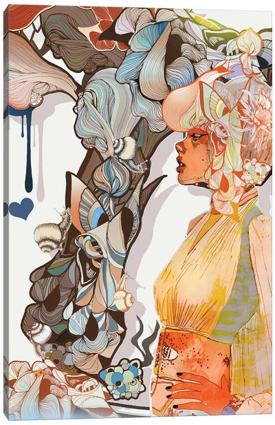 Daphne Canvas Art Print