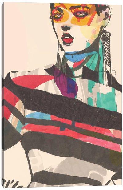 Feather Canvas Art Print