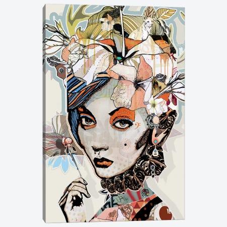 Fox Canvas Print #GII29} by Giulio Iurissevich Canvas Wall Art