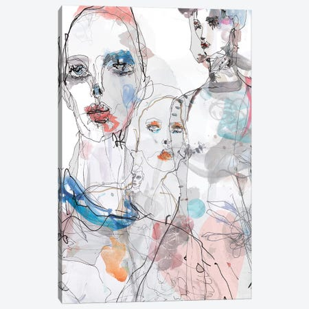 Gaultier Canvas Print #GII30} by Giulio Iurissevich Canvas Art Print