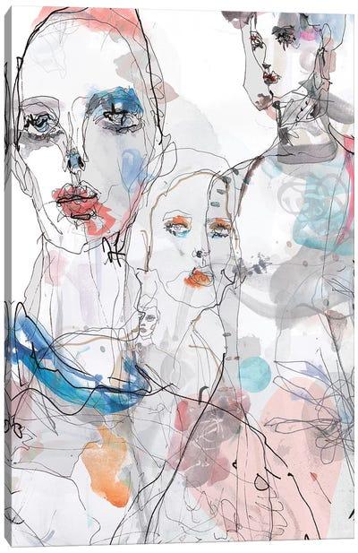 Gaultier Canvas Art Print