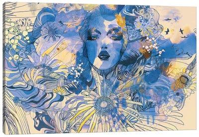 Gerbera Canvas Art Print