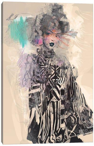Grey Canvas Art Print