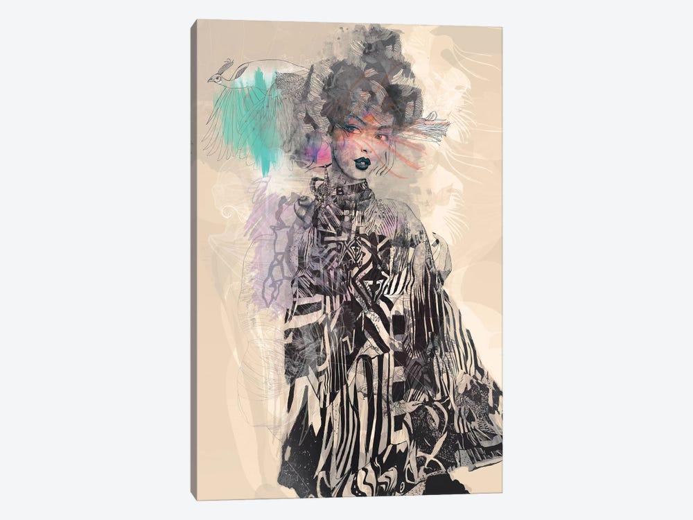 Grey by Giulio Iurissevich 1-piece Canvas Print