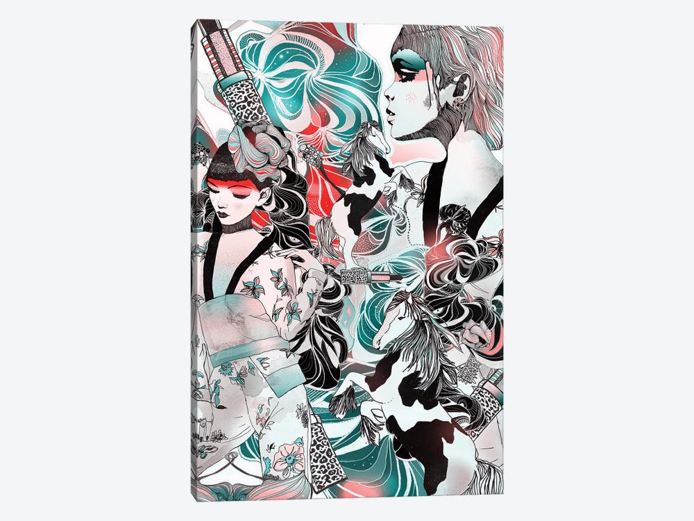 Japanese Dream by Giulio Iurissevich 1-piece Art Print