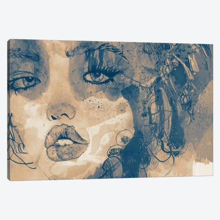 Kiss Me Kiss Me Kiss Me I Canvas Print #GII37} by Giulio Iurissevich Canvas Wall Art