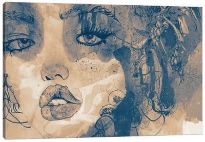 Kiss Me Kiss Me Kiss Me I Canvas Art Print