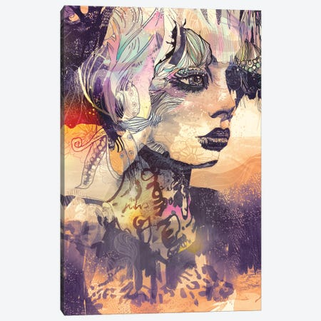 Animales Salvajes Canvas Print #GII4} by Giulio Iurissevich Canvas Art Print