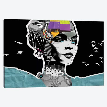 Snob Canvas Print #GII54} by Giulio Iurissevich Canvas Artwork