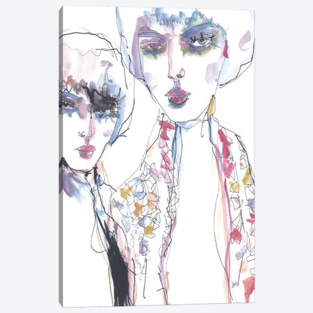Two Canvas Print #GII59} by Giulio Iurissevich Canvas Print