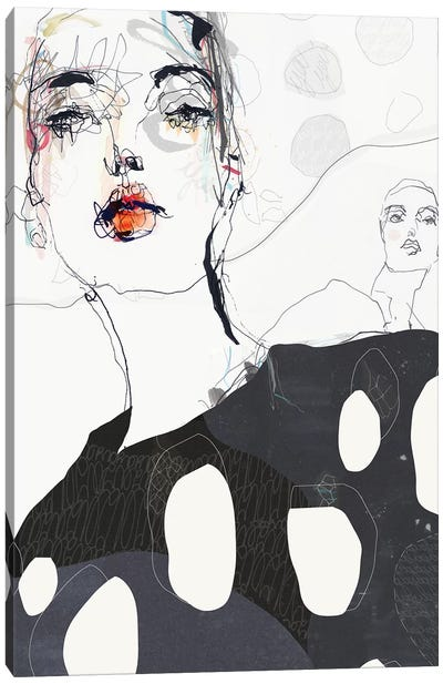 Without U Canvas Art Print