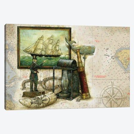 The Nautical Mile Canvas Print #GIO144} by Giordano Studios Canvas Art
