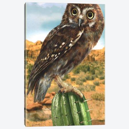 Desert Observer Canvas Print #GIO148} by Giordano Studios Canvas Art Print