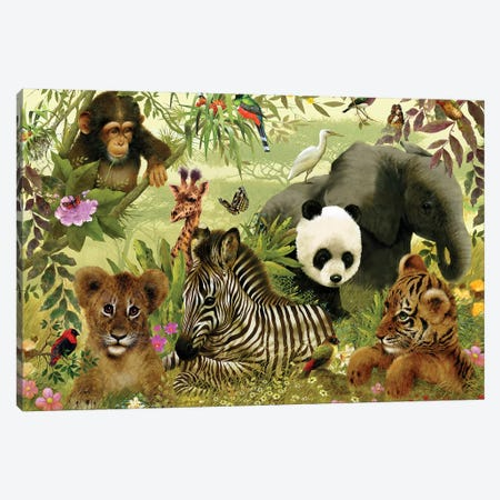 Vanishing Species Canvas Print #GIO24} by Giordano Studios Art Print