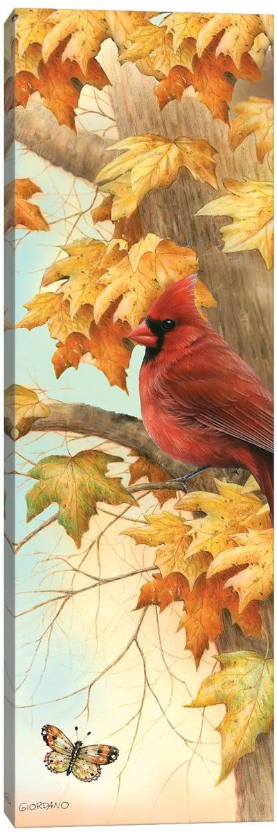 Autumn Ruby Canvas Art Print