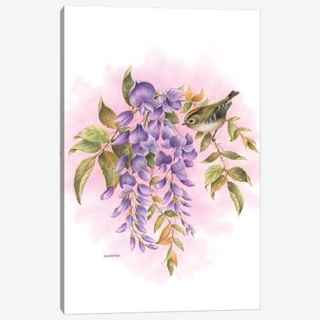 Spring's Blossom Canvas Print #GIO43} by Giordano Studios Canvas Art