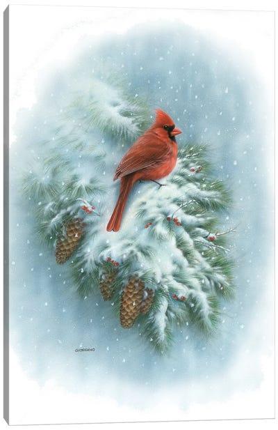 Winter Vignette Canvas Art Print