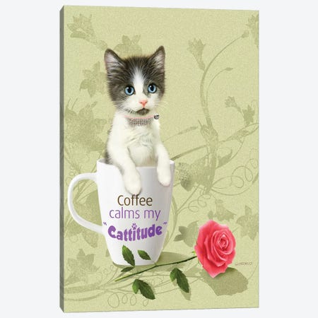 Coffee Break Canvas Print #GIO87} by Giordano Studios Art Print