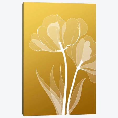 Floral VI Canvas Print #GIS10} by GraphINC Studio Canvas Print