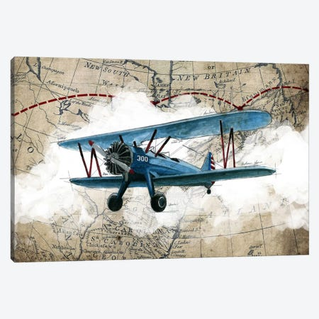 Biplane I Canvas Print #GIS1} by GraphINC Studio Canvas Art Print