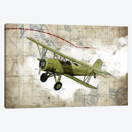 Biplane II Canvas Print #GIS2} by GraphINC Studio Canvas Print