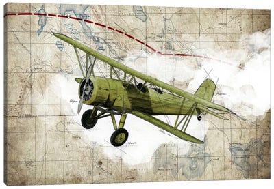 Biplane II Canvas Art Print