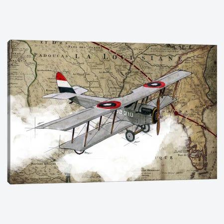 Biplane IV Canvas Print #GIS4} by GraphINC Studio Canvas Artwork