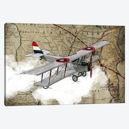 Biplane IV Canvas Print #GIS4} by GraphINC Studio Canvas Artwork
