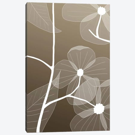 Floral I Canvas Print #GIS5} by GraphINC Studio Canvas Art