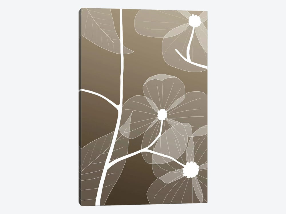 Floral I by GraphINC Studio 1-piece Canvas Art Print