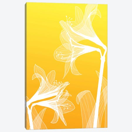 Floral III Canvas Print #GIS7} by GraphINC Studio Canvas Wall Art