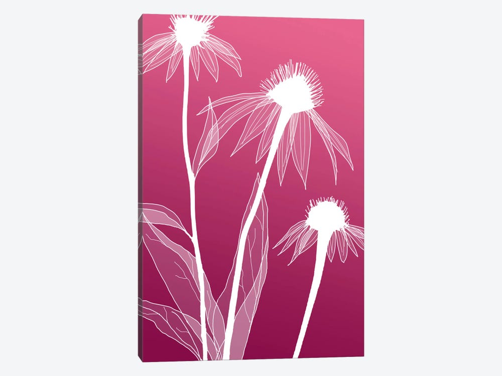 Floral V by GraphINC Studio 1-piece Canvas Print