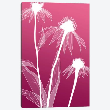 Floral V Canvas Print #GIS9} by GraphINC Studio Art Print