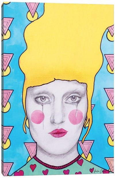 Masculine Over Feminine Energy Canvas Art Print
