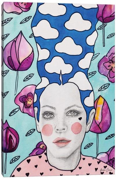 Pink Poppy Canvas Art Print
